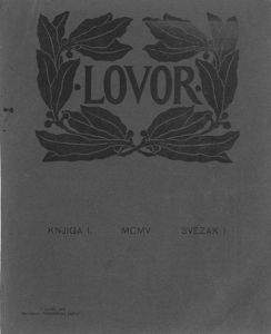 Lovor (Zadar. 1905), Godina: 1905, Vol.: 1, Tom: 1