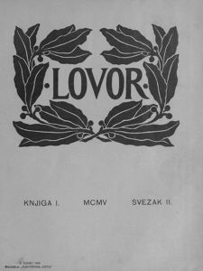 Lovor (Zadar. 1905), Godina: 1905, Vol.: 1, Tom: 2