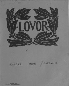 Lovor (Zadar. 1905), Godina: 1905, Vol.: 1, Tom: 3