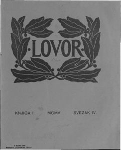 Lovor (Zadar. 1905), Godina: 1905, Vol.: 1, Tom: 4