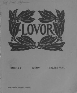 Lovor (Zadar. 1905), Godina: 1905, Vol.: 1, Tom: 5-6