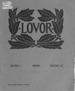 Lovor (Zadar. 1905), Godina: 1905, Vol.: 1, Tom: 7